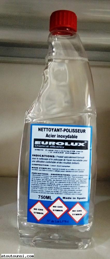 Polisseur - Nettoyeur articles en inox